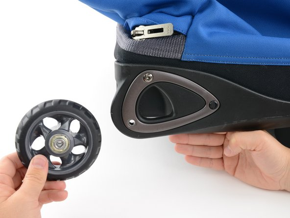Removing the wheel may take a little force, do not be afraid to give it a tug.