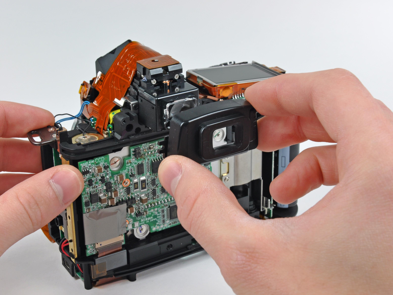 nikon d70 eyepiece replacement ifixit repair guide rh ifixit com Nikon D70 Nikon D1000