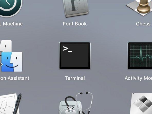 Open Terminal.app