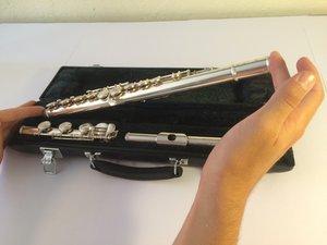 Repairing Flute Felt Key Pads