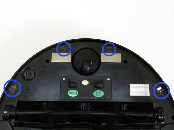 Replacing bObsweep Robotic Vacuum's Floor Sensors