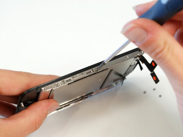 Just like the iPhone 3G, the LCD is pretty easy to replace. After removing 6 screws, the LCD simply lifts out.