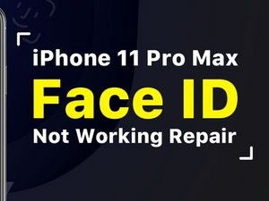 How To Fix iPhone 11 Pro Max Face ID Not Available - Motherboard Repair