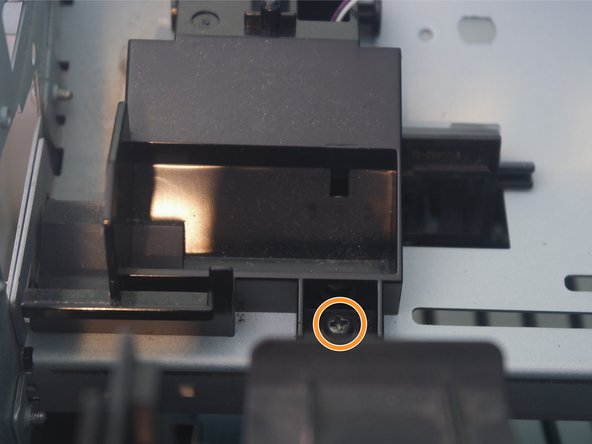 The cartridge connector can be removed from the printer.