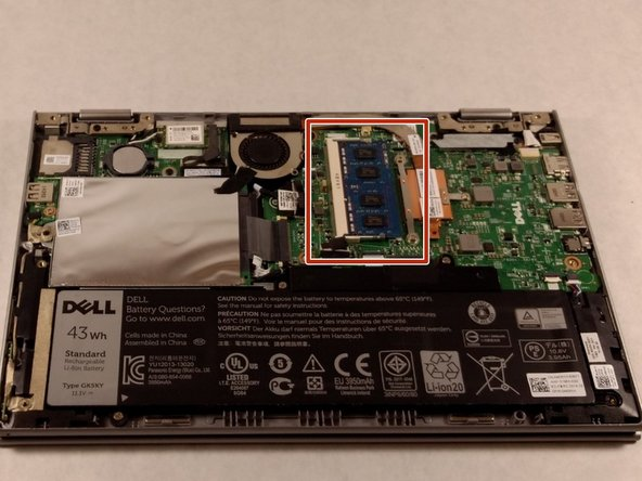 Dell Inspiron 3148 RAM Replacement