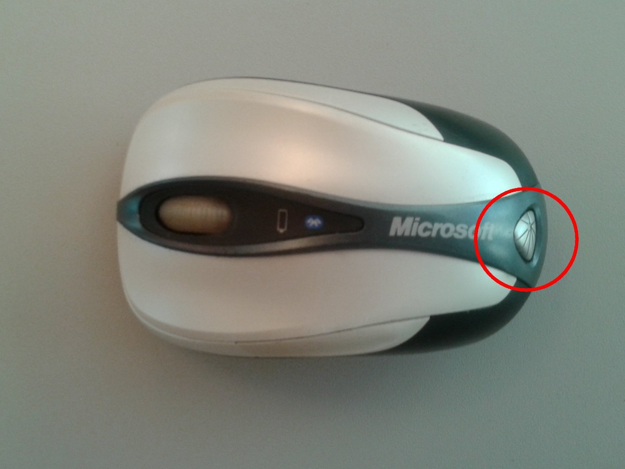microsoft bluetooth mouse wheel not working