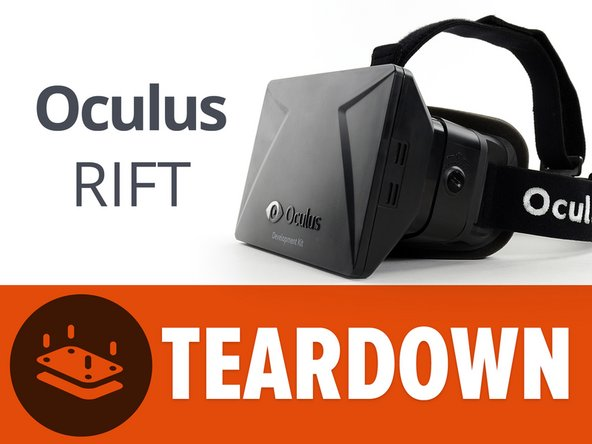 Before we begin, we want to make it clear  that this is the developer edition of the Oculus Rift, included in the developer kit. It is essentially an early prototype of the consumer version.
