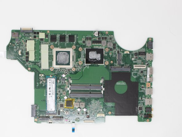 MSI GE72 6QF Apache Pro Motherboard Replacement