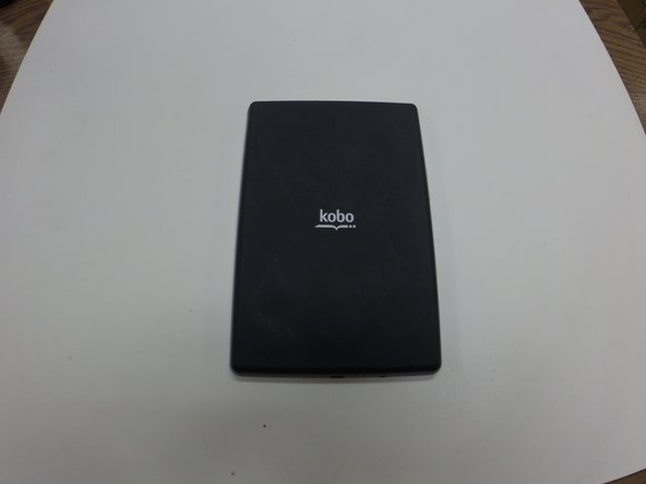 The back of your Kobo Vox