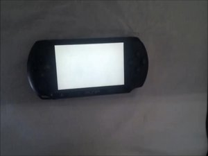 How to fix the PSP E1000 psp e1000 WHITE SCREEN