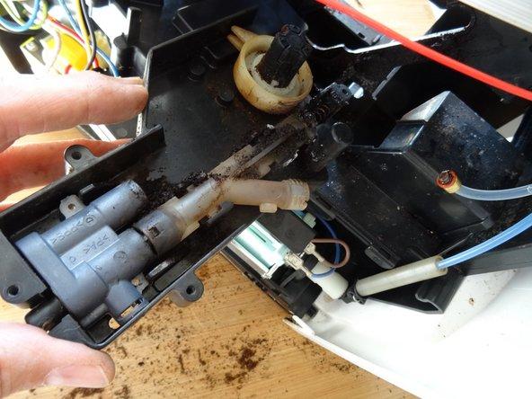 Siemens Surpresso  drainage valve replacement