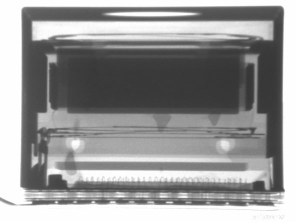 X-ray sideview of the Droid RAZR camera