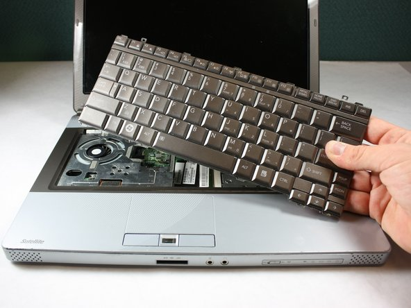 Keep the keyboard safe by storing it on a flat, non-metallic surface until needed.