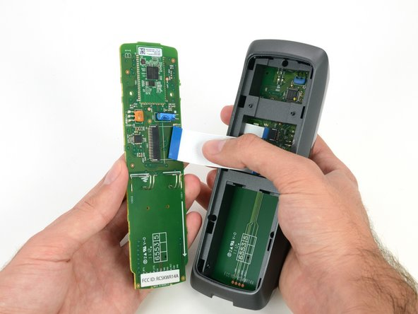 The Co-Star's remote looks to be as easy to take apart as the media player itself.