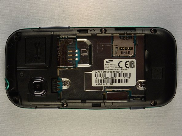 Samsung Gravity TXT Plastic Back Frame Replacement