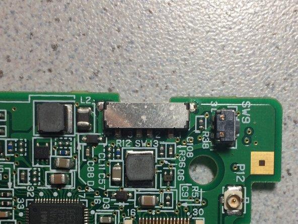 Nintendo DS Lite Einschaltknopf (Platine)