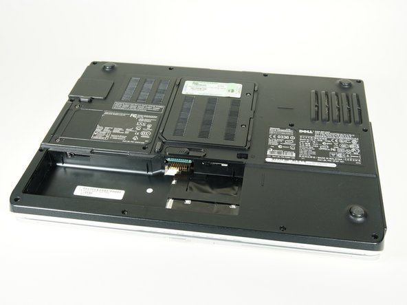 Most laptops have a door for the ram. But sometimes, removing the entire back cover is necessary.