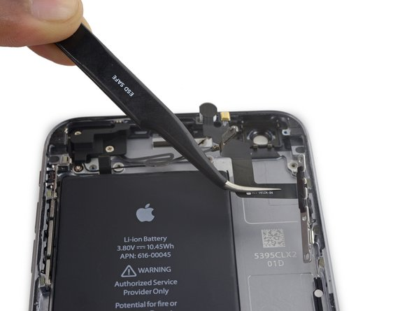 Remove the power button flex cable.