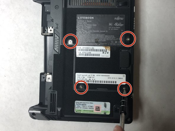 Fujitisu LifeBook U810 Hard Drive  Replacement