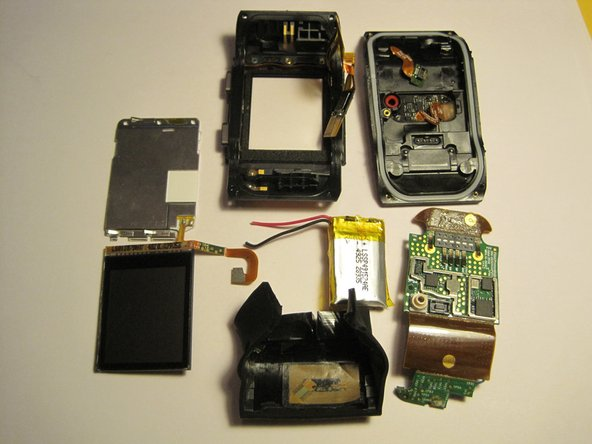 Here are all the parts after the teardown