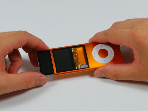 Image 1/1: One of the most exciting features of the new Nano is what covers the LCD: real glass.