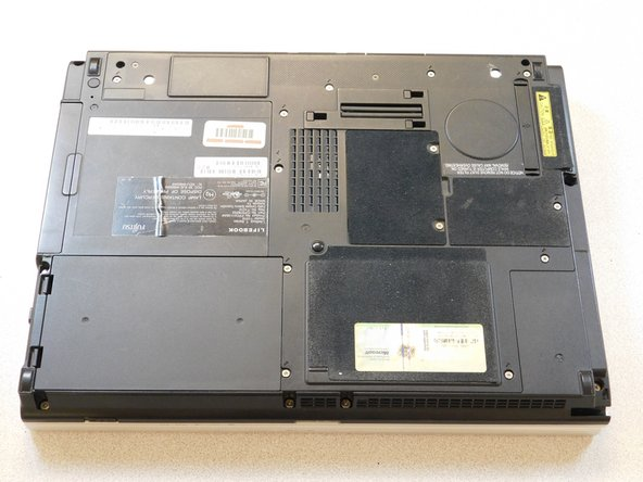 fujitsu lifebook t1010 Optical Drive Replacement