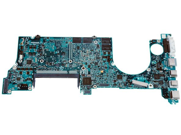 Bottom of the logic board.
