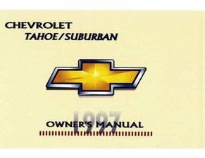 1997 Chevrolet Suburban Owner's Manual