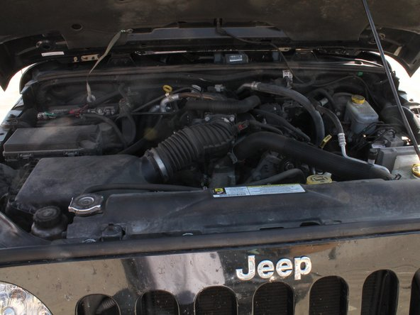 Replacing 2007 - 2012 Jeep Wrangler Oil Filter