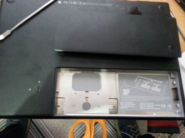 unlook the battery