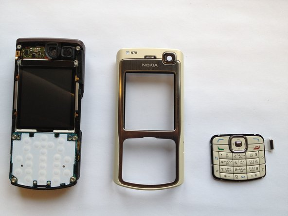 Nokia N70 Keypad Replacement