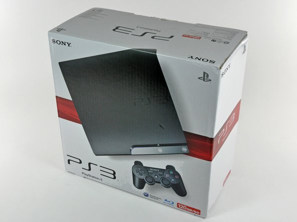 It's here! We got our dirty hands on a PS3 Slim a full day before it was set to arrive in the mail!