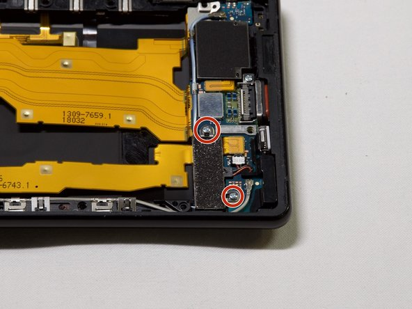 Sony Xperia XZ2 振動モーターの交換