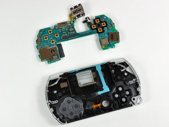 The D-pad may come loose while prying the logic board.