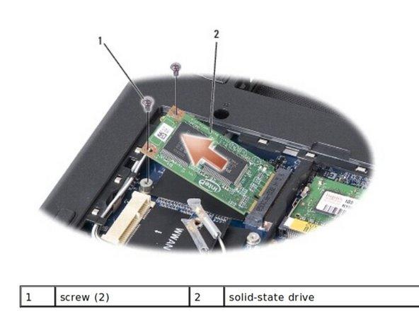 Dell Inspiron 910 Unidad de Estado Sólido (SSD) Reemplazo