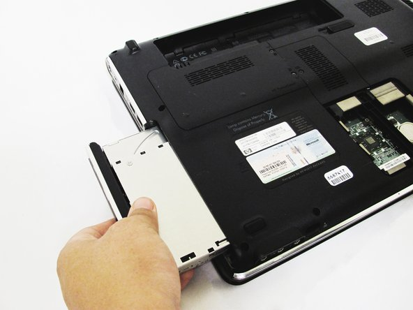HP dv5-1125nr Disk Drive Replacement