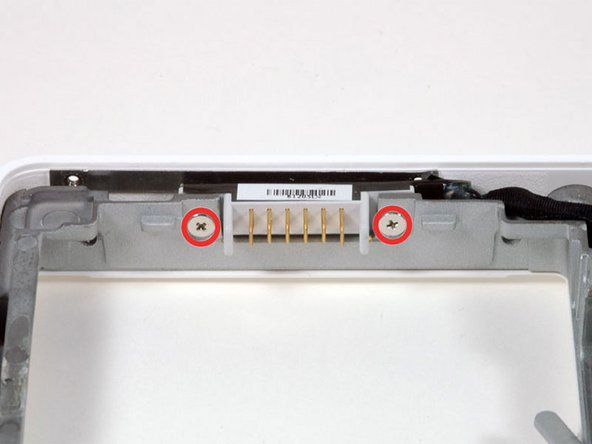 MacBook Core Duo Battery Connector Replacement