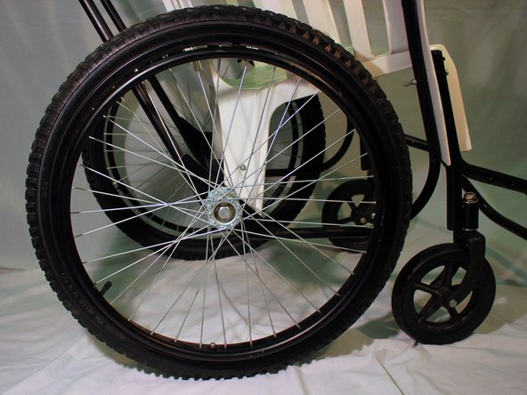 Free Wheelchair Mission GEN 1 Rear Wheel Axle Replacement
