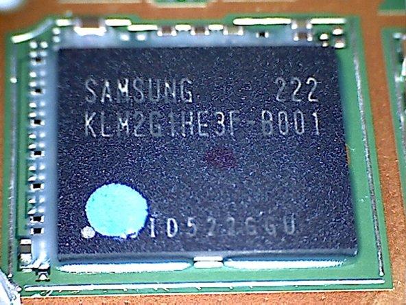 Chip #4: Samsung 2 GBit memory