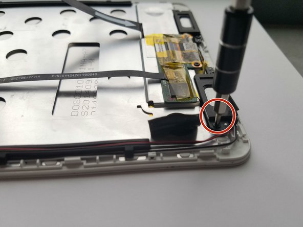 Use a 5mm nut driver and Philips#000 bit to remove the four 1.5mm screws.