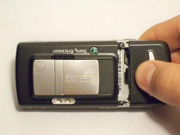 Sony Ericsson K750i Battery Cover Replacement