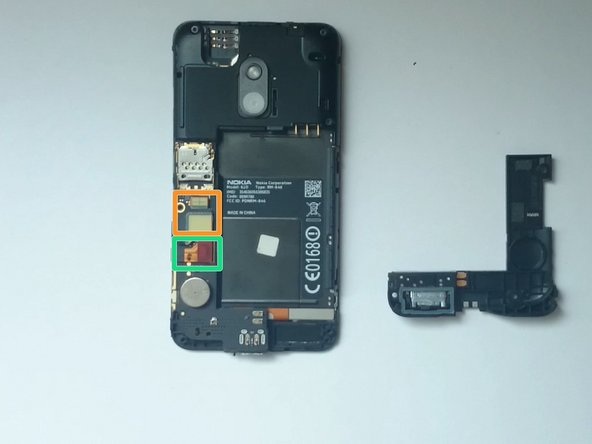 Image 2/2: LCD Display flex cable connector