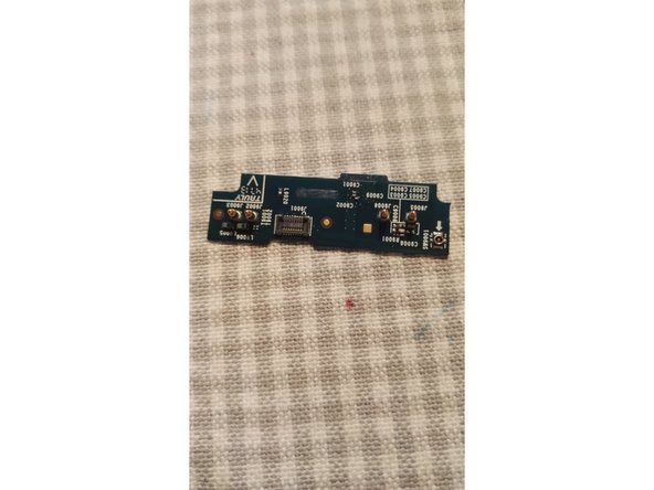 The second circuit board can be removed after removing the connector attached to it and gently prying it off. It's fixed in place by a small amount of glue.