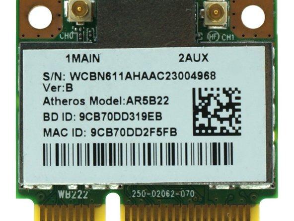 Genuine Wireless WiFi BT Bluetooth Card AR5B22 Main Image