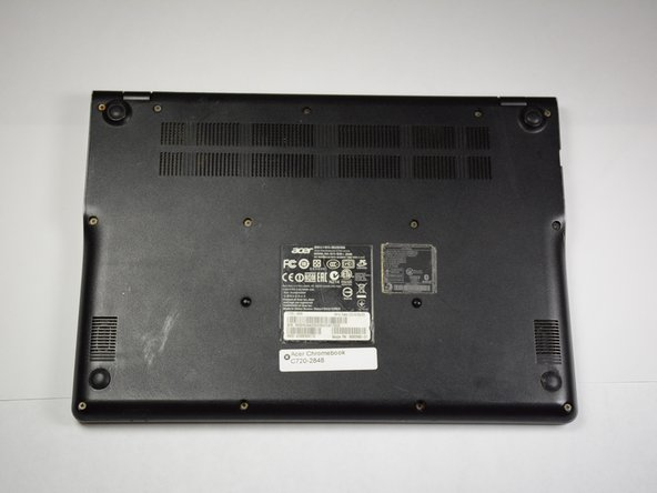Acer Chromebook C720-2848 Back Cover Replacement