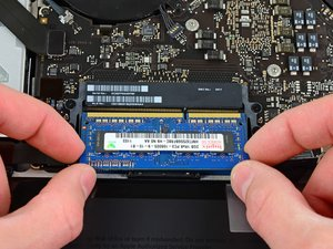 "Installation de RAM dans le MacBook Pro 15"" Unibody mi-2012"