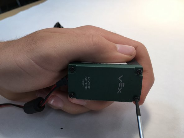Remove the 4 screws in the corners of the casing, being carefeul not to strip them.