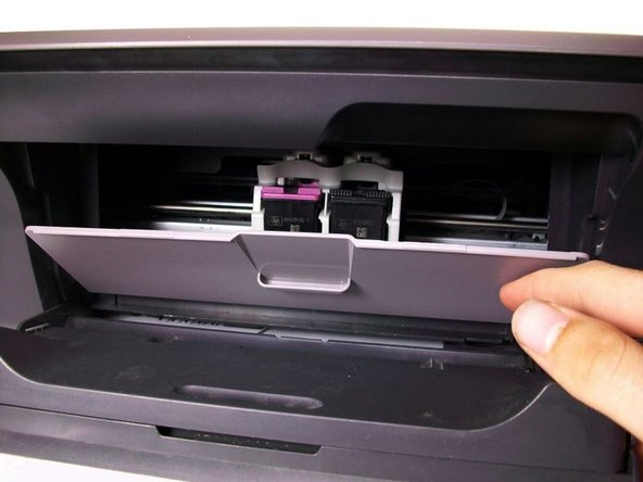 HP Deskjet 1055 Ink Cartridge Replacement