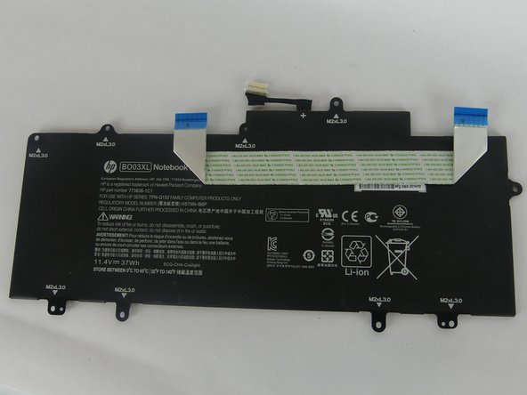 HP Chromebook  14-x013dx Battery Replacement