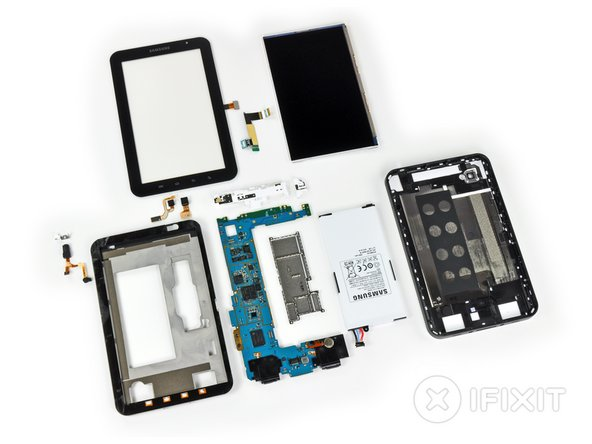 Samsung Galaxy Tab Repairability: 6 out of 10 (10 is easiest to repair)